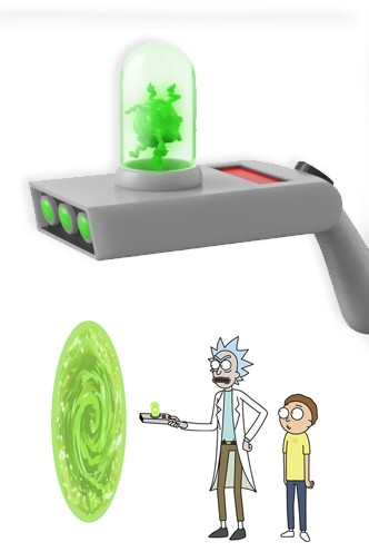 Rick And Morty Portal Gun Funko Funko Universe Planet Of Comics Games And Collecting