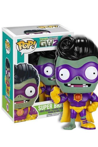 Pop! Plantas vs Zombis: Super Brainz Exclusivo
