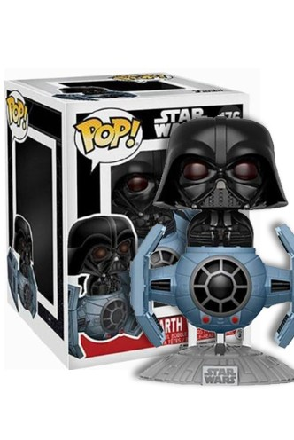 Pop! Star Wars: Tie Fighter con Darth Vader Exclusivo