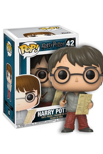 Pop! Movies: Harry Potter - Harry Potter con mapa de Merodeador