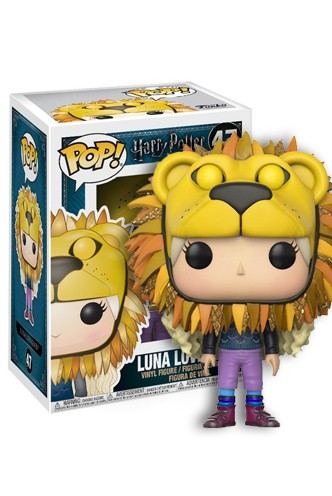 Pop! Movies: Harry Potter - Luna con cabeza de león