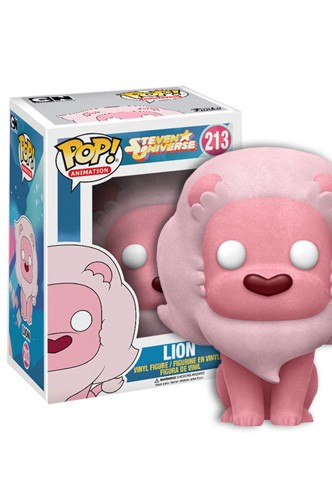 Pop Animation Steven Universe Lion Flocked Limited Funko Universe Planet Of Comics Games And Collecting