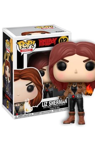 POP Comics Hellboy Liz Sherman Brand New In Box Funko
