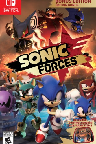 Sonic Forces Bonus Edition Switch