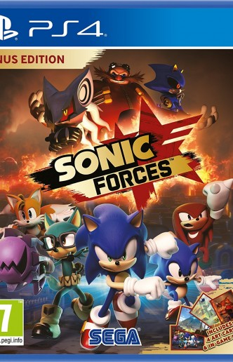 Sonic Forces Bonus Edition Ps4
