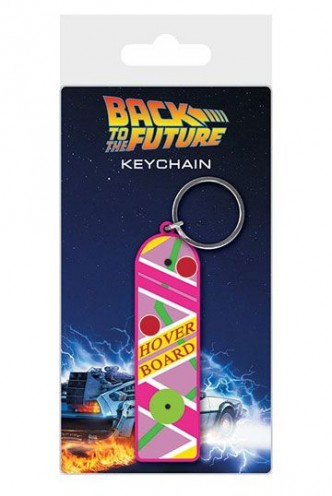 Back to the Future - Rubber Keychain Hoverboard