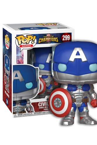 Funko Pop Games Marvel Contest of Champions Civil Warrio 299 26709