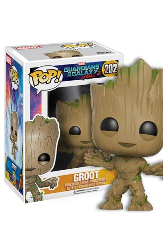 Pop! Marvel: Guardianes de la Galaxia Vol. 2 - Groot