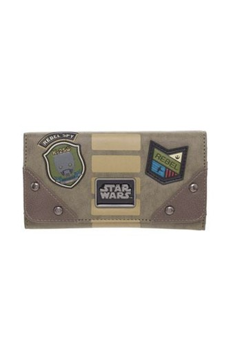 Star Wars - Rogue One Monedero Rebel Patches