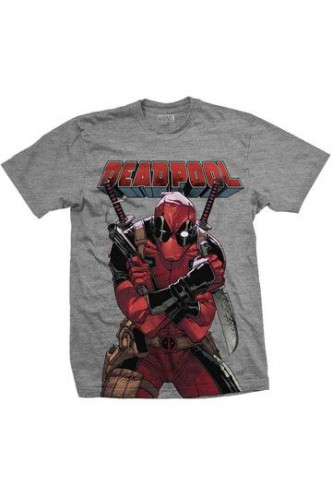 Deadpool - Camiseta Big Print