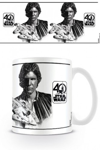 Star Wars - Taza 40th Anniversary (Han Solo)