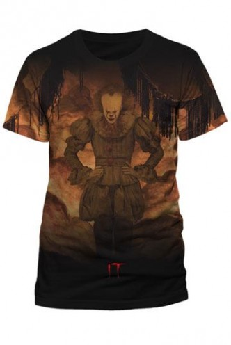 Stephen King's It - Camiseta Sublimation Flames