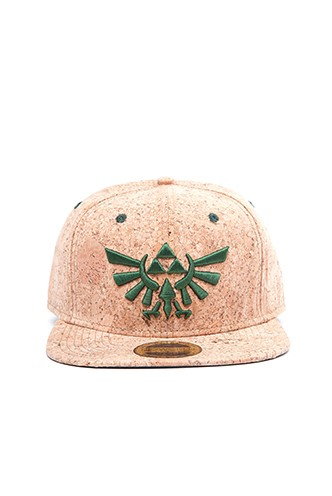 Zelda - Gorra Triforce logo marrón