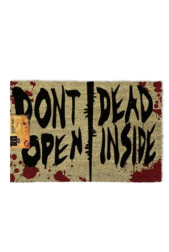 The Walking Dead - Doormat Don't Open Dead Inside