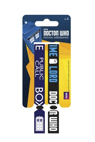Doctor Who - Festival Wristband 2-Pack Time Lord