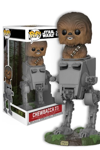 Pop! Deluxe: Star Wars - Chewbacca en AT-ST