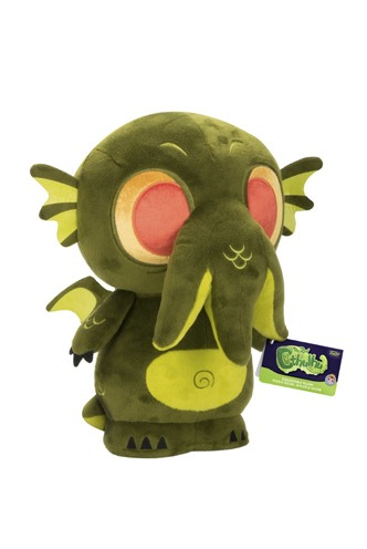 Supercute Plushies: The Real Cthulhu - Cthulhu Dark Green