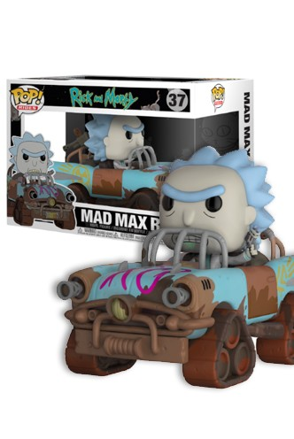 Pop! Ride Animation: Rick and Morty - Mad Mad Rick