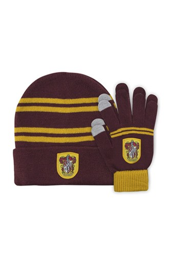 Harry Potter - Gryffindor Children's Gloves and Hat