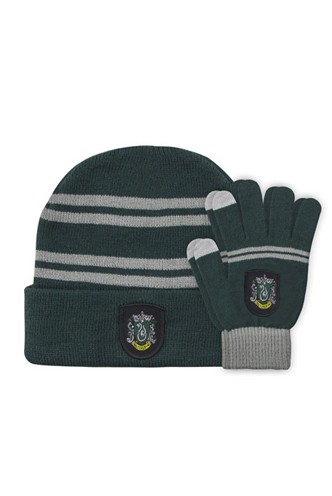 Harry Potter - Slytherin Children's Gloves and Hat