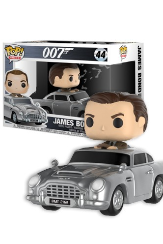 Pop! Rides: James Bond - Aston Martin & Sean Connery