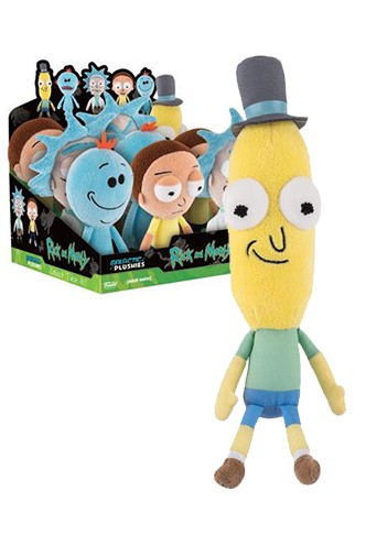 Funko: Peluches Rick y Morty - Poopy Butthole