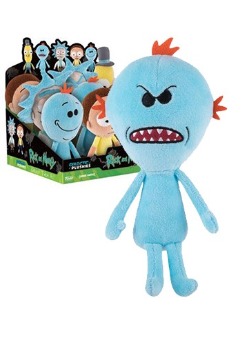 Funko: Peluches Rick y Morty - Mr. Meeseeks 2