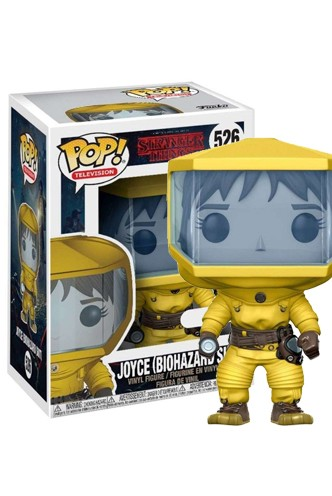 Pop! TV: Stranger Things - Joyce Bio Hazard Exclusivo