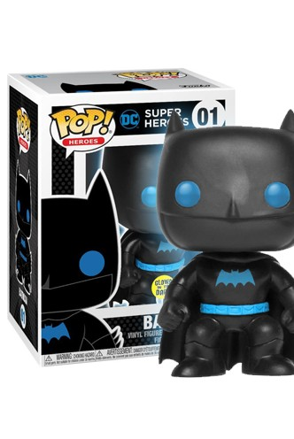 Pop! DC: Justice League - Batman Silhouette GITD Exclusivo
