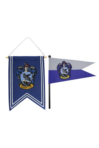 Harry Potter - Banner and Ravenclaw Flag