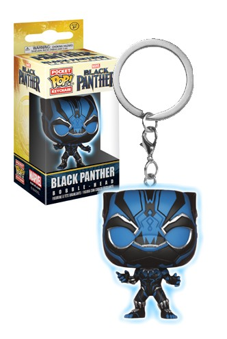Pocket Pop! Keychain: Marvel - Black Panther Glow