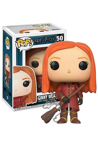 Pop! Movies: Harry Potter - Ginny (Quidditch Robes) Exclusivo