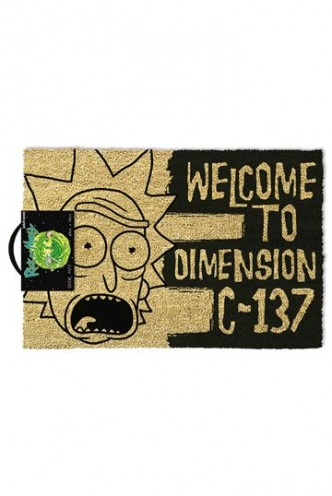 Rick & Morty - Felpudo Dimension C-137