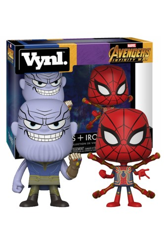 Vynl.: Marvel - Vengadores Infinity War 'Thanos & Iron Spider'