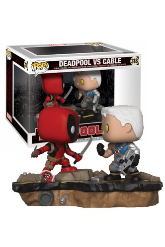 Pop! Marvel: Movie Moments - Deadpool vs Cable
