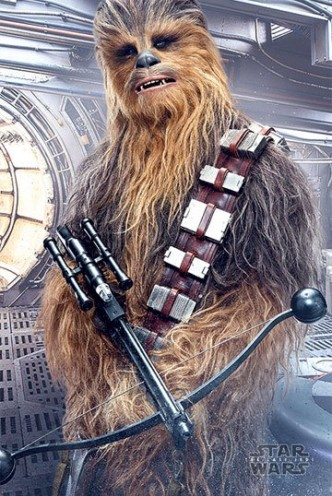 Star Wars - Episode VIII Póster Chewbacca Bowcaster