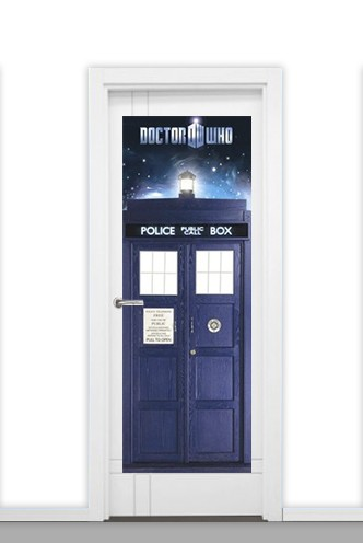 Door Poster Doctor Who 'Tardis'