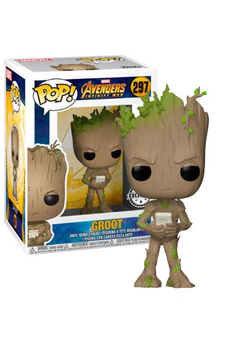 Pop! Marvel: Avengers: Infinity War - Groot w/Console Exclusive