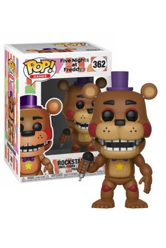 Pop! Games: FNAF 6 Pizza Sim - Rockstar Freddy