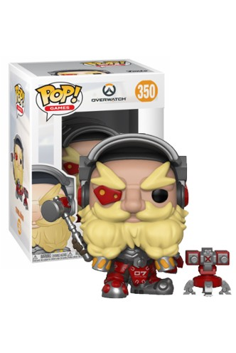 Pop! Games: Overwatch S4 - Torbjörn