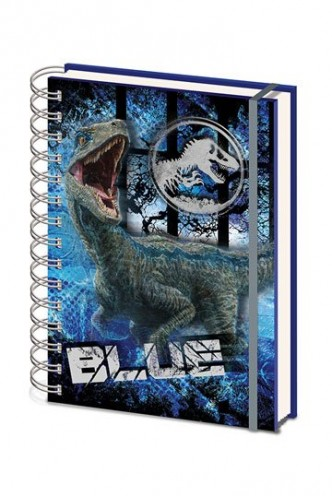 Jurassic World - Libreta A5 Fallen Kingdom Blue