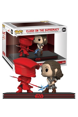 Pop! Star Wars Movie Moment: The Last Jedi - Clash on the Supremacy
