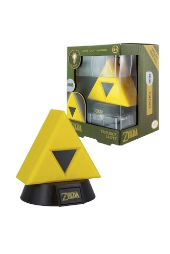 Nintendo - Lámpara 3D Legend of Zelda Triforce