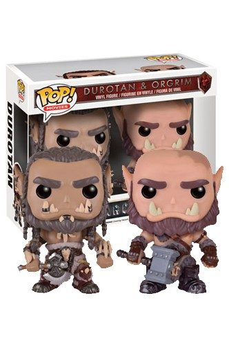 Pop! Movies: World of Warcraft - Durotan & Orgrim Exclusivo
