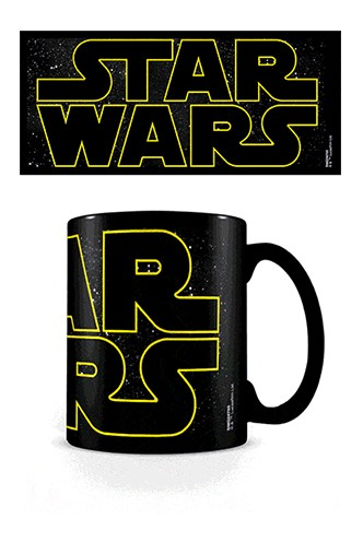 Star Wars - Taza sensitiva al calor Logo Characters