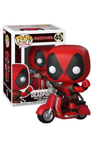 Pop! Rides: Marvel - Deadpool & Scooter