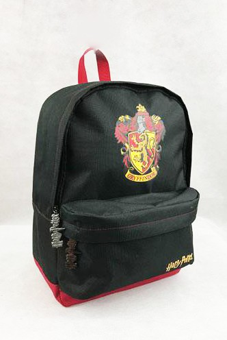 Harry Potter - Mochila Gryffindor Black Burgundy