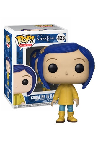 Pop! Movies: Coraline - Coraline in Raincoat