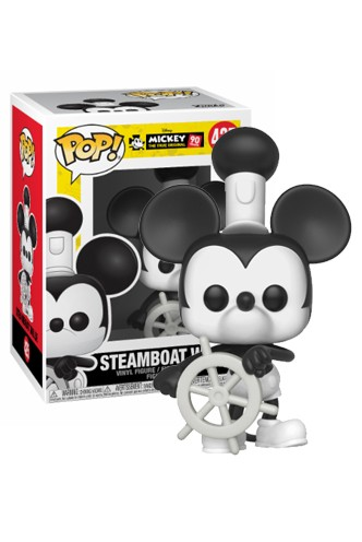 Pop! Disney: Mickey's 90th - Steamboat Willie