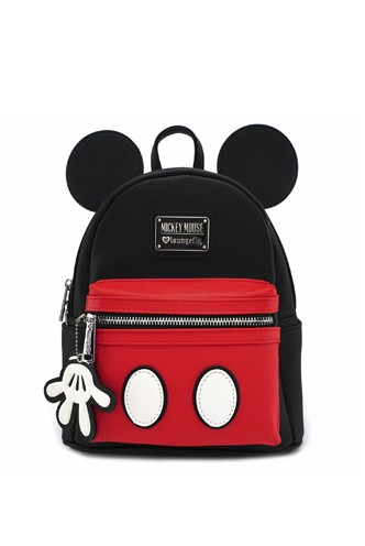 Loungefly - Mickey Suit Mini Leather Backpack